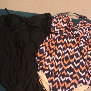 2 size XL maternity swimsuits